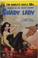 Shady Lady by Cleve Adams (bound with One Got Away by Harry Whittington)