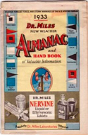 Dr. Miles New Weather Almanac and Handbook of Valuable Information