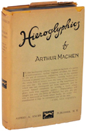 Hieroglyphics by Arthur Machen