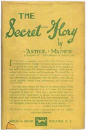 The Secret Glory by Arthur Machen