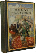 The Boy's King Arthur edited by Sidney Lanier (1917)