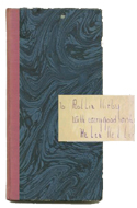 Double Blossoms by Helen Keller - inscribed to cartoonist Rollin Kirby