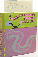 A Transatlantic Tunnel Hurrah! by Harry Harrison - inscribed to science fiction legend Philip Jose Farmer