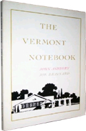 The Vermont Notebook by John Ashbery & Joe Brainard
