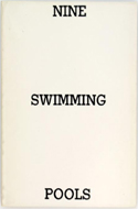 Nine Swimming Pools and a Broken Glass by Edward Ruscha