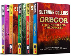 Gregor: The Underland Chronicles by Suzanne Collins (5 vols.)