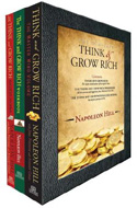 The Complete Think and Grow Rich Box Set by Napoleon Hill (3 vols.)