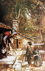 Grimms' Fairy Tales illustrated by Arthur Rackham (various editions)