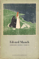 Edvard Munch: Lithographs, Etchings, Woodcuts edited by William S Lieberman