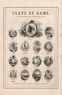 Coats of Arms of the States of the U.S. by A.J. Johnson