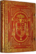 The well-known Emblem book by Schoonhovius in a beautiful Italian armorial binding by Florentius Schoonhovius