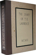 The Diary of T.E. Lawrence