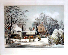 Farmers Home Winter (1863)