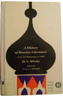 History of Russian Literature from Its Beginnings to 1900 by D.S. Mirsky