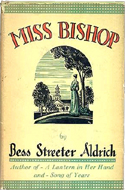 Miss Bishop by Bess Streeter Aldrich