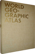 World Geographic Atlas by Herbert Bayer