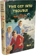 Five Get into Trouble by Enid Blyton