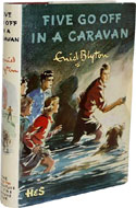 Five Go Off in a Caravan by Enid Blyton