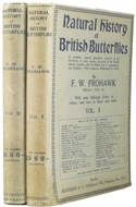 Natural History of British Butterflies by F.W. Frohawk