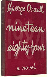 Nineteen Eighty-Four by George Orwell