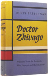 First English-language edition of Doctor Zhivago by Boris Pasternak