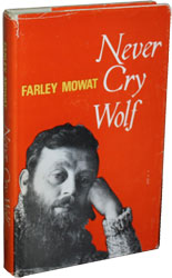 First edition of Never Cry Wolf by Farley Mowat
