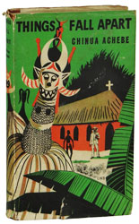 First edition of Things Fall Apart by Chinua Achebe
