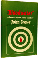 Bloodwater: A Buena Costa County Mystery by John Crowe