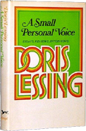 A Small Personal Voice: Essays, Reviews, Interviews by Doris Lessing