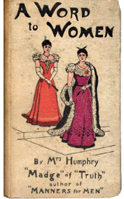 A Word to Women by Mrs. Humphry