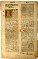 Impression Incunable Koberger (1483)