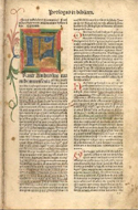 Prologus in Bibliam by Various (1491)