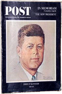 Saturday Evening Post: JFK in Memoriam issue, 14 Dec 1963