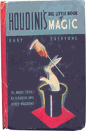 Houdini's Big Little Book of Magic by Harry Houdini