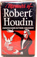 Memoirs of Robert Houdin by R. Shelton Mackenzie
