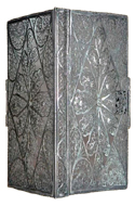 Silver Filigree Miniature Binding Alone