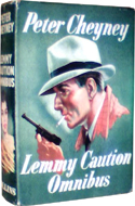 Lemmy Caution Omnibus by Peter Cheyney