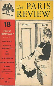 Issue 18, Spring 1958 - 5th anniversary issue with Ernest Hemingway Interview