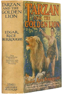 Tarzan and the Golden Lion by Edgar Rice Burroughs (1924/1927)