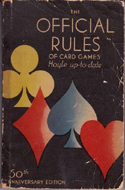 The Official Rules of Card Games by Leonard R. Gracy