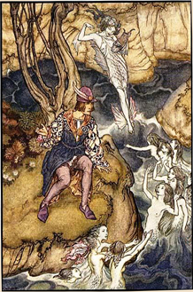 A Midsummer Night's Dream illustrated by Arthur Rackham