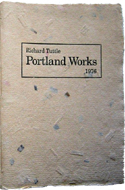 Portland Works 1976 by Richard Tuttle