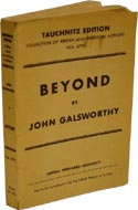 Beyond by John Galsworthy