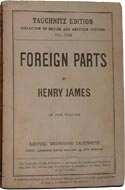 Foreign Parts by Henry James