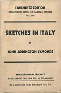 Sketches in Italy by John Addington Symonds