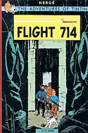 Flight 714 by Hergé