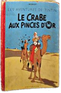 Le Crabe aux Pinces d'Or by Hergé