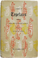 A Book of Typefaces with Some Illustrated Examples of Text and Display Setting (1952)