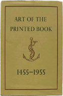 Art of the Printed Book by Joseph Blumenthal (1973)