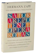 Hermann Zapf and his Design Philosophy by Hermann Zapf (1987)